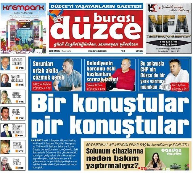 Burası Düzce Gazetesi